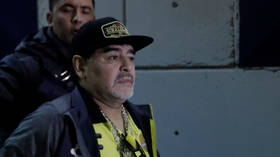 Maradona feeling 'well' after brief hospitalization for internal bleeding