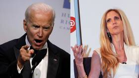 Sexist much? Biden blames 'conservative blonde woman' for shutdown, 'forgets' Ann Coulter's name