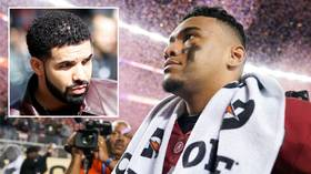 'The Drake Curse is real!' Alabama falls to Clemson as fans blame rapper for jinxed support