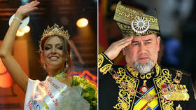 Malaysian king abdicates throne weeks after marrying Russian beauty queen