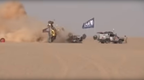 WATCH terrifying crash as buggies are obliterated in Africa desert race (VIDEO)