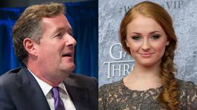 'Tw*t' Piers Morgan slammed by GOT 'snowflake' actress in mental health spat