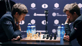 Russian grand master Karjakin eyes rematch with world chess champ Carlsen