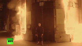 Artist to arsonist: Scrotum-nailing anti-Putin stuntman sentenced for setting French bank on fire