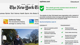 'NewsGuard' app gives news sites 'trust' ratings & targets alternative media. What could go wrong?