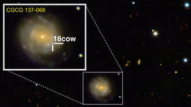 Epic 'stellar explosion' captured on camera points to birth of a black hole (PHOTO)