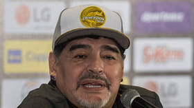 'Thank God it all went perfectly': Maradona on the mend after operation to stem internal bleeding