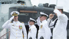 Commander of US nuclear sub demoted for hiring 10 Filipina prostitutes as 'accompaniment'