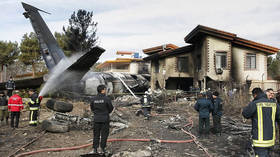 Iranian cargo Boeing 707 crashes in residential area near Tehran (VIDEO)