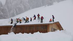 German hotel walloped by huge avalanche as snows claim lives across Europe (PHOTOS)