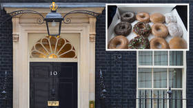 Donut go gently into that good night: Desperate Downing St binges on Krispy Kreme before crunch vote