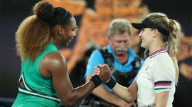 'You did amazing, don't cry!': Serena consoles tearful teenager Yastremska at Aus Open (VIDEO)