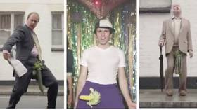 PETA's take on the masculinity debate is a VIDEO of men with vegetables for private parts