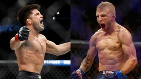 'This is bulls**t': TJ Dillashaw criticizes referee after 32-second loss at UFC Brooklyn