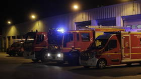 2 dead & 22 injured in massive blaze at France's iconic Courchevel ski resort (VIDEO)