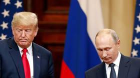 U.S. President Donald Trump and Russian President Vladimir Putin. Helsinki, Finland July 16, 2018. © REUTERS/Grigory Dukor
