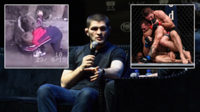 Hotshot: Khabib shows off impressive firing range skills on trip to Jordan (VIDEO)