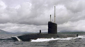 UK nuclear sub narrowly avoids collision with passenger ferry