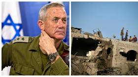 IDF commander turned PM candidate touts body count & bombing Gaza into 'stone age' in campaign ad
