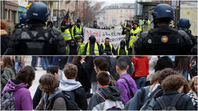 Playground politics: 'Yellow Vests vs. Police' game hitting French schoolyards