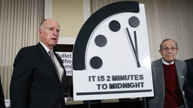 'The new abnormal': Doomsday clock holds steady at two minutes to midnight