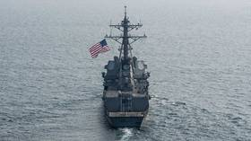 2 US warships sail through Taiwan Strait amid tensions with China