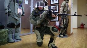'Carried 35kg for hours & barely tired': New PHOTOS of Russian military exoskeleton