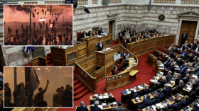 Greek MPs back Macedonia name-change deal in narrow vote amid repeated protests