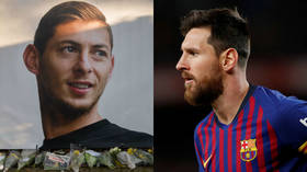 'As long as there's a shred of hope': Messi makes impassioned plea for Sala search to resume