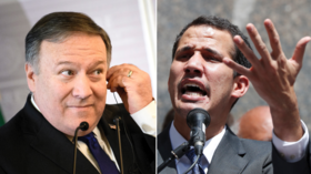 'Guido'? Pompeo mangles name of US-backed Venezuelan 'president'