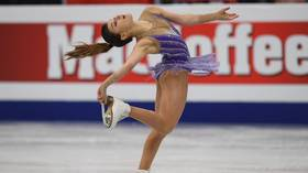 Russia's Samodurova stuns compatriot Zagitova to win European figure skating title