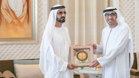 Twitter blown away by all-male recipients of UAE's gender equality awards