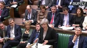 UK MPs debate Theresa May's plan B for Brexit, as PM backs alternative to Irish backstop