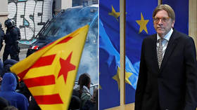 'I'm Catalan and in prison': Twitter erupts after EU bigwig Verhofstadt's 'I am European' mantra