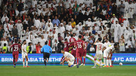Furious UAE fans hurl SHOES at Qatar players during Asian Cup grudge match (VIDEO)