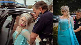 Frozen's Elsa arrested as cops ban criminal activity due to polar vortex