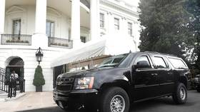 Injury reported in motorcade incident outside White House