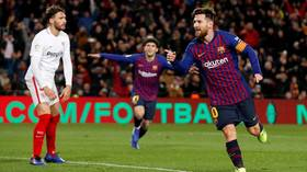 'Absolutely ridiculous': Internet gushes as Messi finishes sublime team goal in Barca rout (VIDEO)