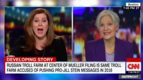 Jill Stein lashes out at CNN for pushing debunked theory she helped Trump win