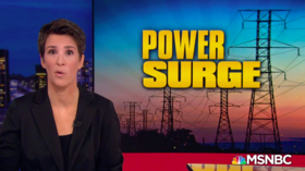 Russia could 'flip the off switch' on US electricity at any time, warns Maddow in new conspiracy