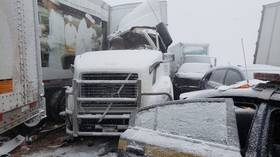 Polar vortex causes massive 21-car pile-up on upstate NY highway (PHOTOS, VIDEO)