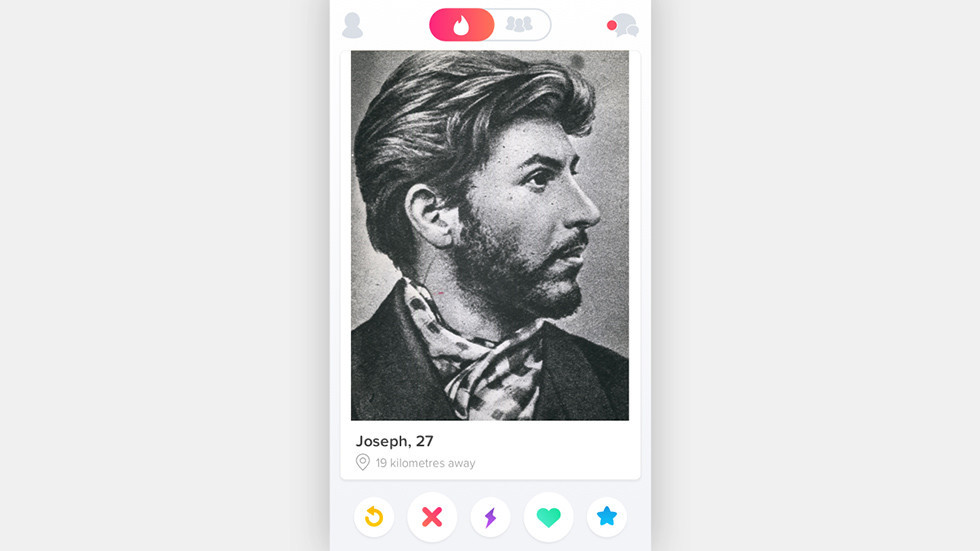 Swipe right on Stalin: Tinder shows love for dead Soviet leader