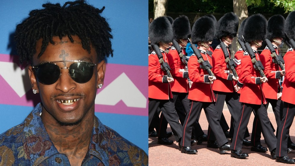 overstayed by 13 years rapper 21 savage revealed as illegal alien from uk after arrest by ice rt usa news rapper 21 savage revealed as illegal