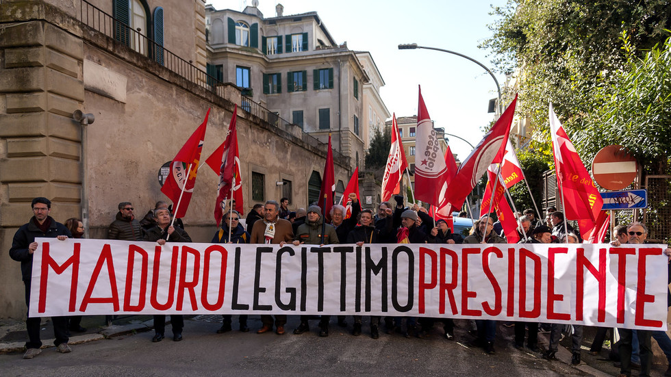 EU states fold like cheap tents to US demands on Venezuela, Italy one of few to stay independent