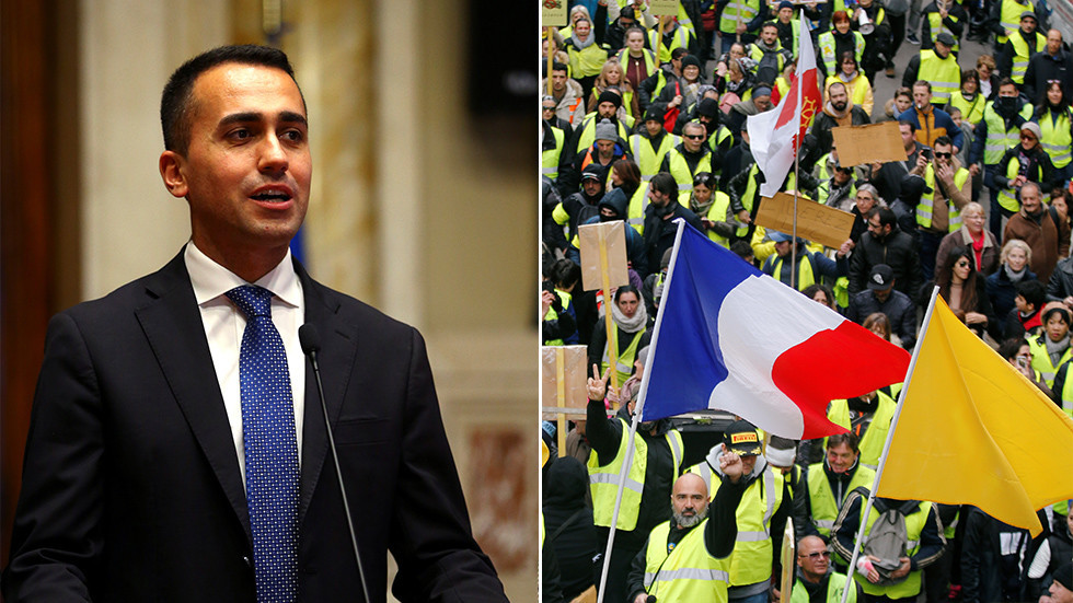 'Winds of change crossed the Alps': Italy's deputy PM meets Yellow Vest 'leaders'
