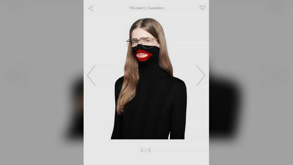 6700f2dd8d5 Racist or no sense at all  Gucci withdraws women s jumper amid  blackface   row — RT World News