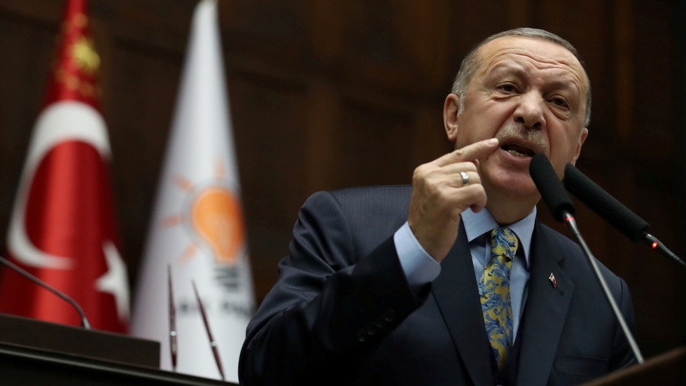 Turkey charges HSBC banker for insulting Erdogan with Hitler meme video