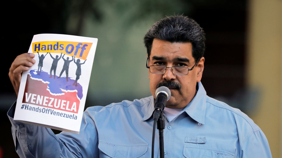 'Washington willing to send its sons to die in absurd war' – Venezuela's Maduro in open letter to US