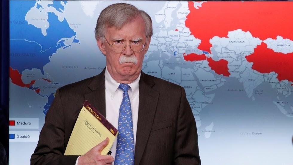 Trump & Bolton's slam of Iran revolution highlights 40 years of US 'regime change' failure