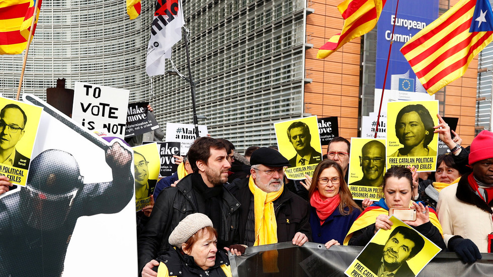 'Test of democracy': Catalan leaders on trial amid political turmoil for Spanish government